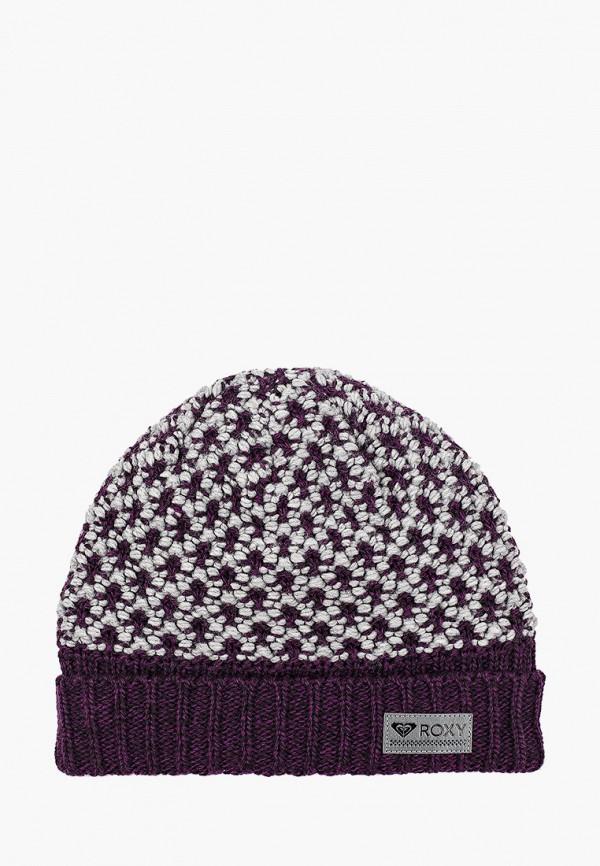 мужская шапка roxy, фиолетовая