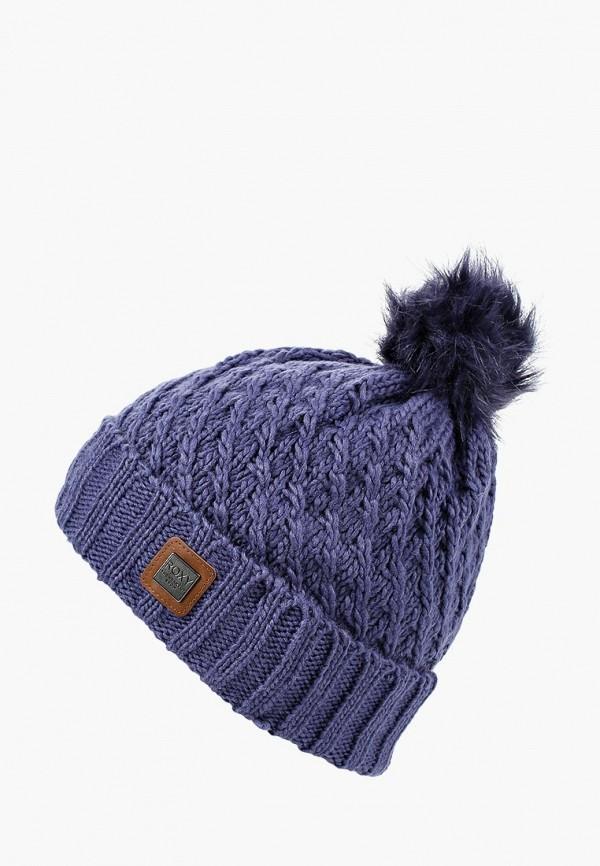 Купить Шапка Roxy, RO165CWCFHJ0, синий, Осень-зима 2018/2019