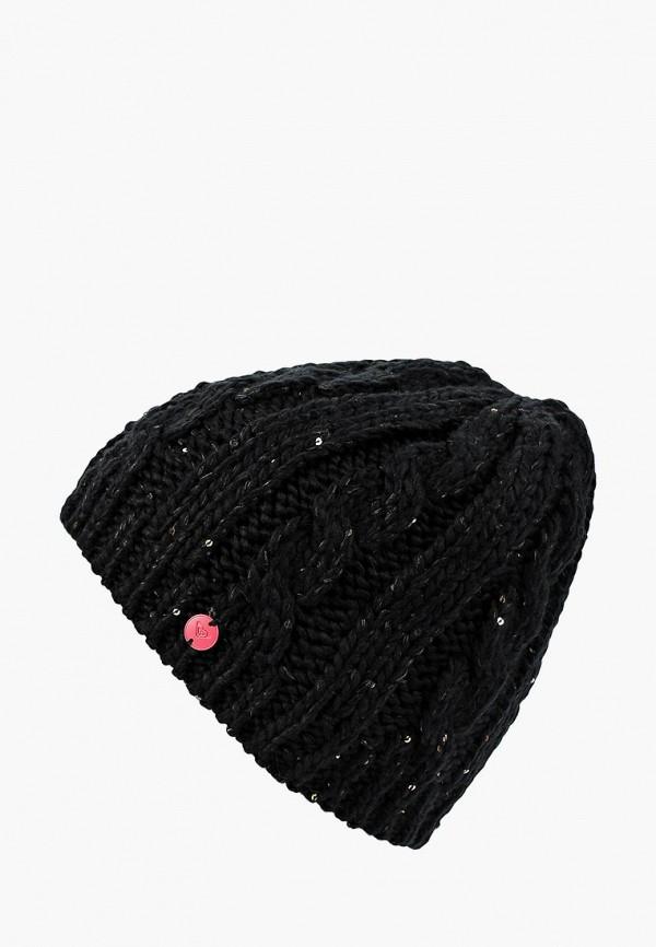 Купить Шапка Roxy, RO165CWCFHJ9, черный, Осень-зима 2018/2019