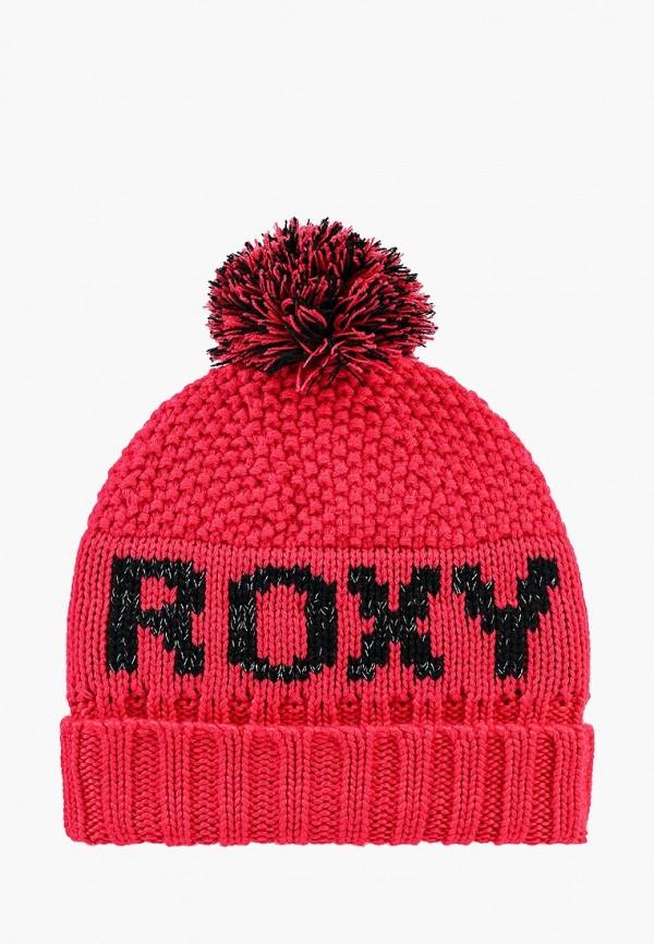 женская шапка roxy, красная
