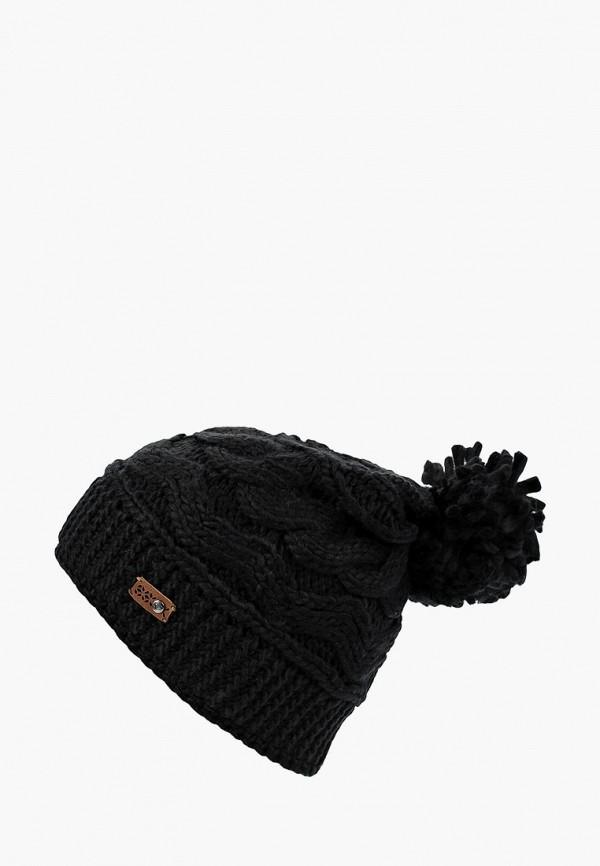 Купить Шапка Roxy, RO165CWCFHM4, черный, Осень-зима 2018/2019