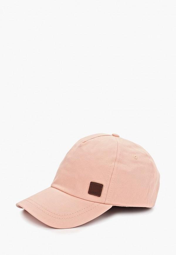 женская бейсболка roxy, розовая