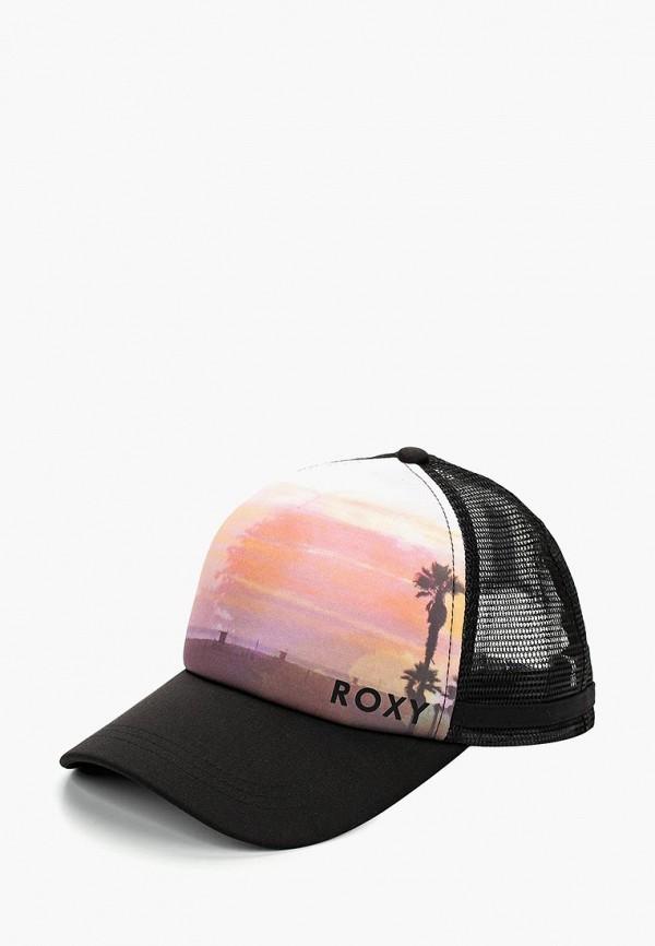 Купить Бейсболка Roxy, ro165cwedmr2, черный, Весна-лето 2019