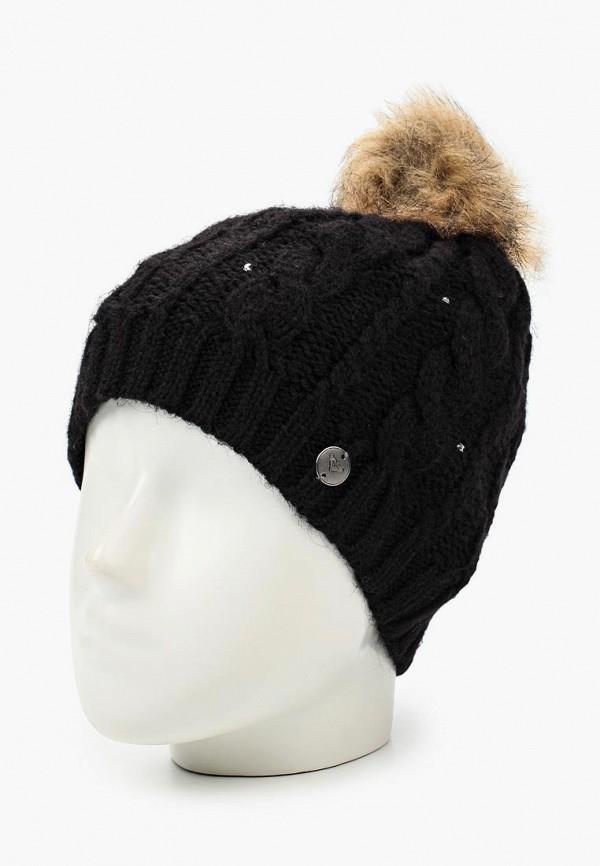 Фото 2 - женскую шапку Roxy черного цвета