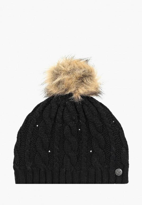 Фото 6 - женскую шапку Roxy черного цвета