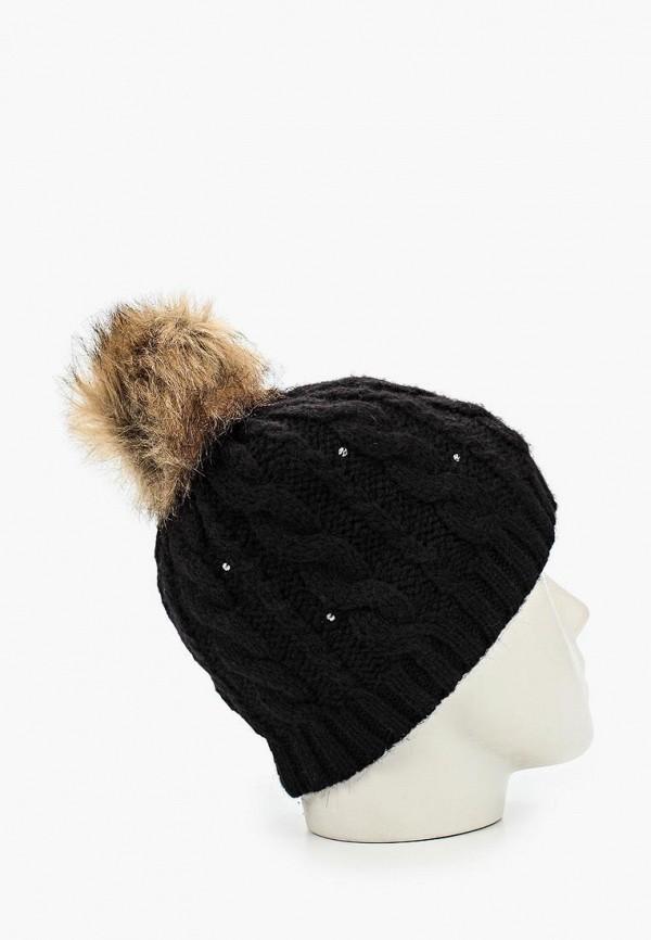 Фото 3 - женскую шапку Roxy черного цвета