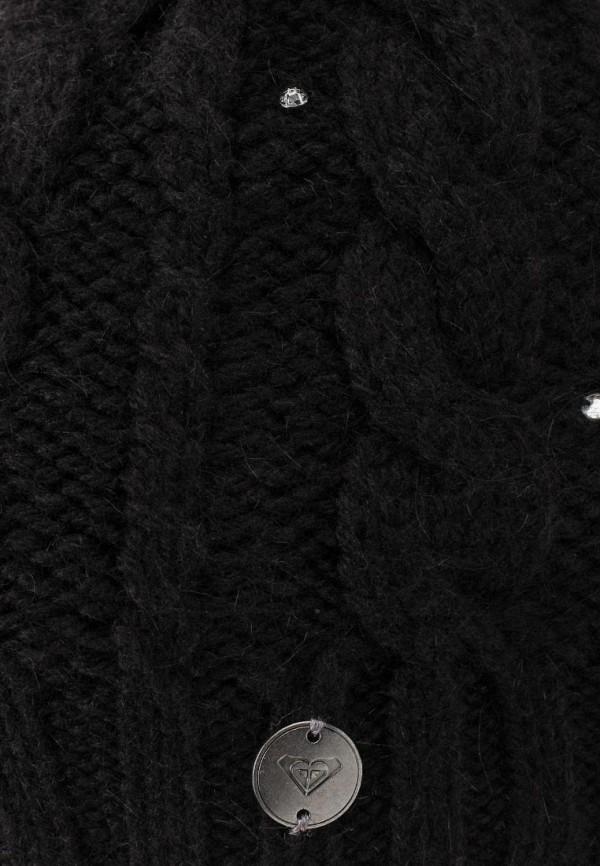 Фото 4 - женскую шапку Roxy черного цвета