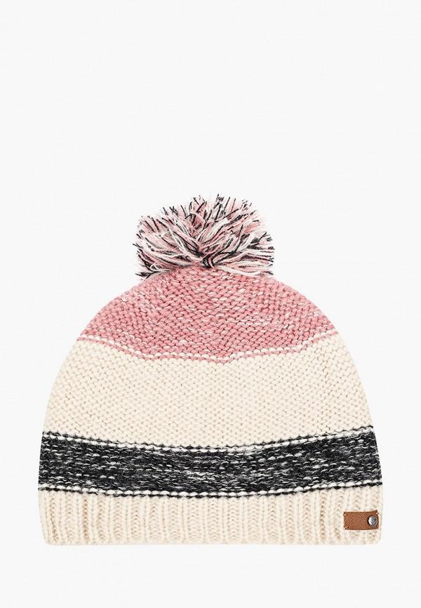 женская шапка roxy, разноцветная