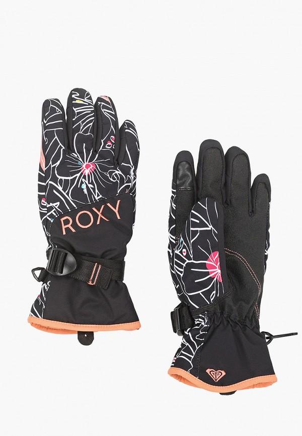 перчатки roxy для девочки, черные