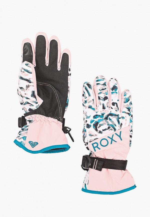 перчатки roxy для девочки, розовые
