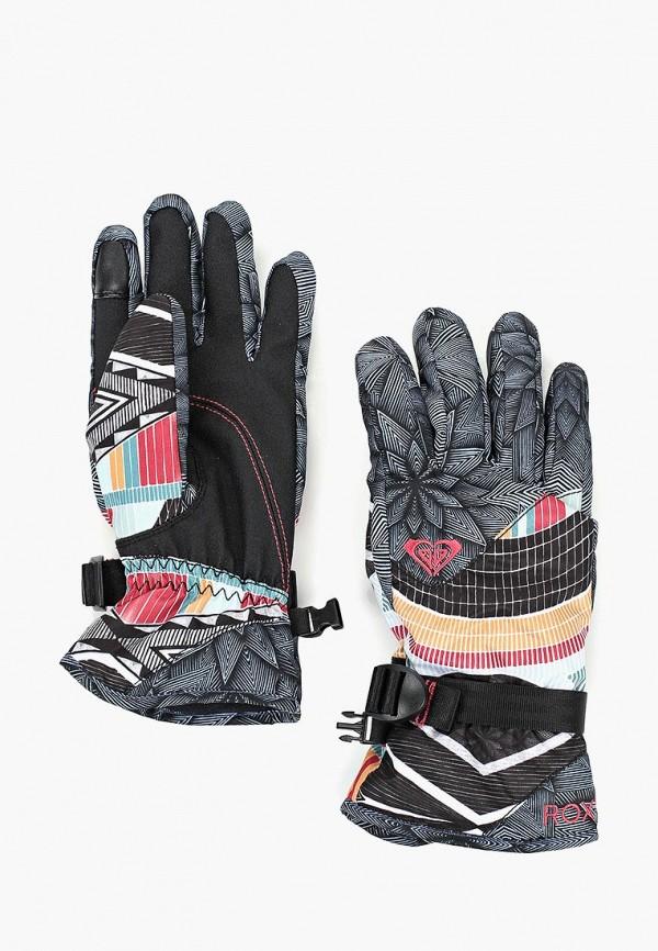 женские перчатки roxy, черные