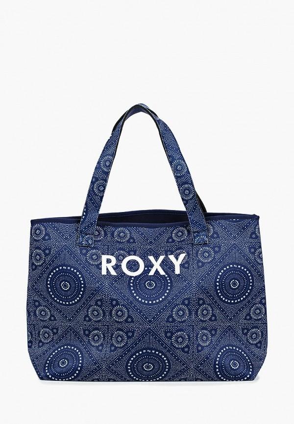 женская пляжные сумка roxy, синяя