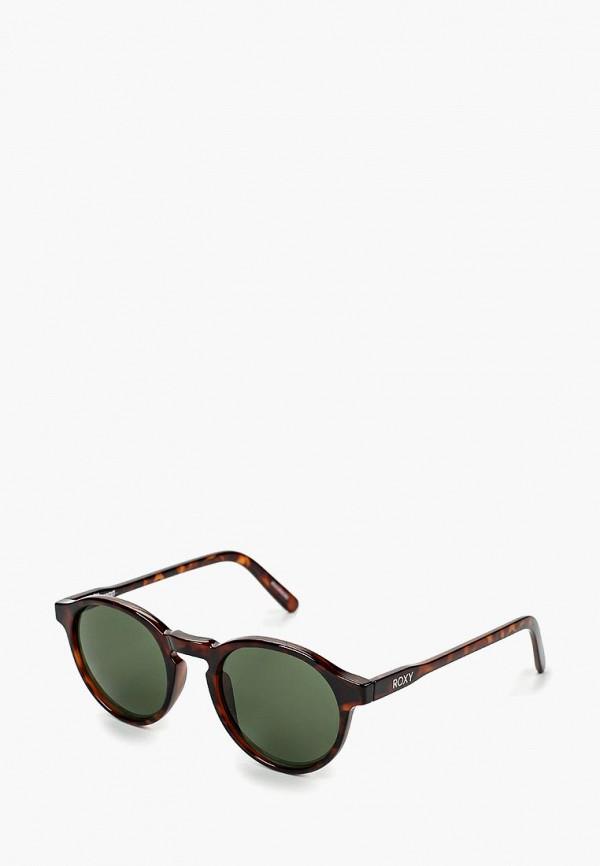 женские солнцезащитные очки roxy, коричневые