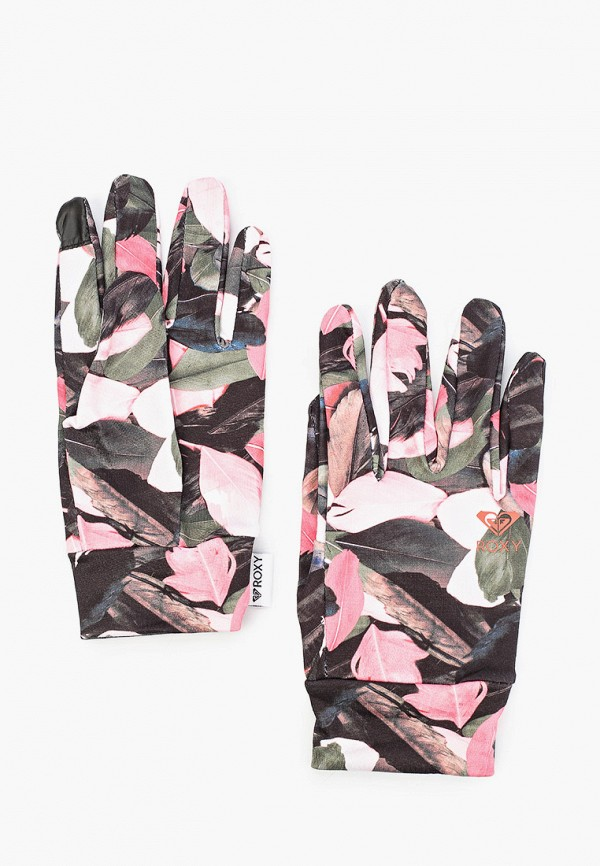 женские перчатки roxy, разноцветные
