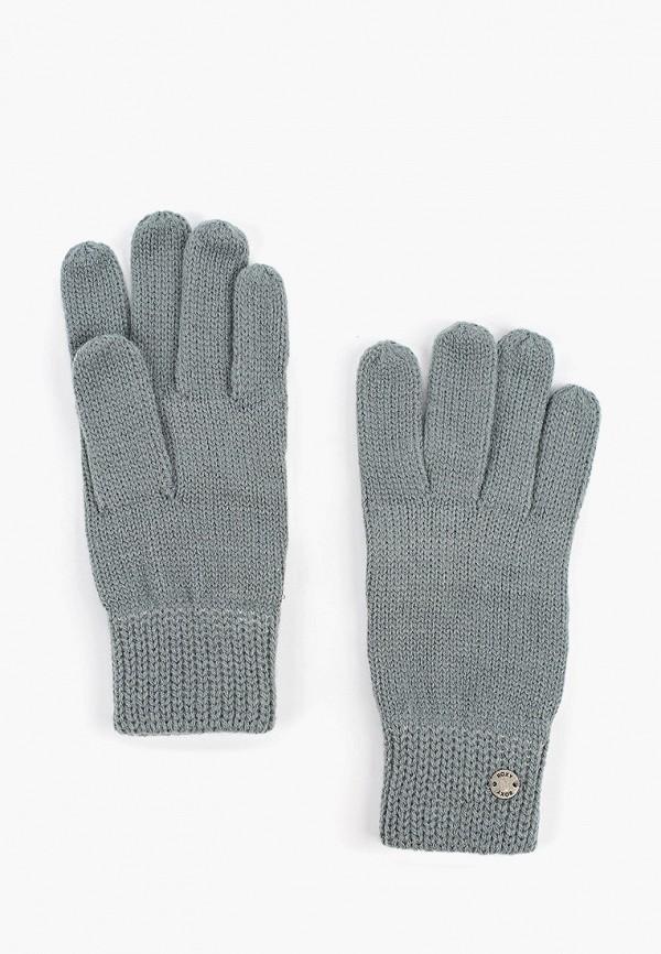 женские перчатки roxy, бирюзовые