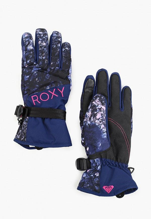 женские перчатки roxy, синие