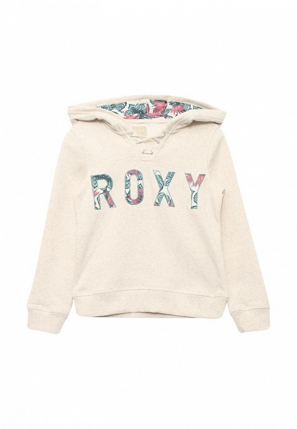 Купить Худи Roxy, HOPE YOU KNOW, RO165EGAKGF0, бежевый, Весна-лето 2018