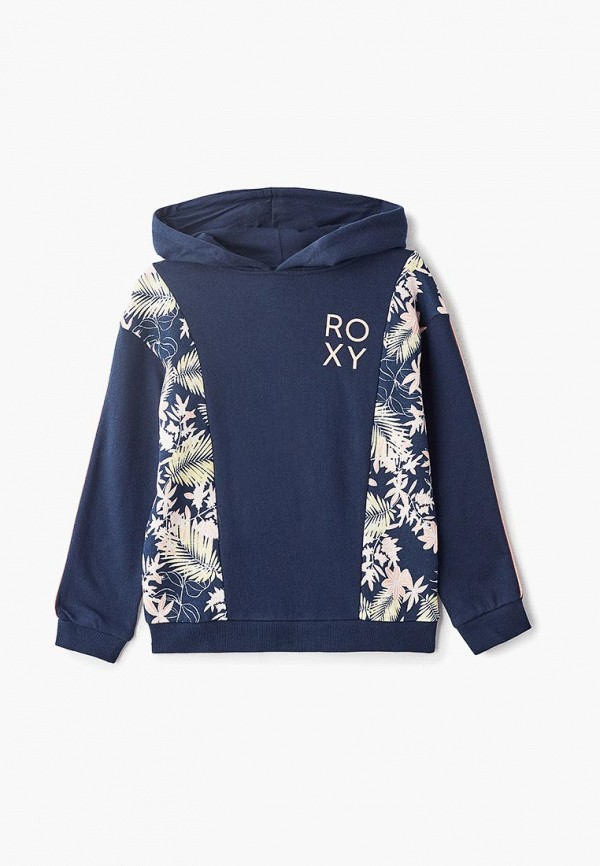 худи roxy для девочки, синие