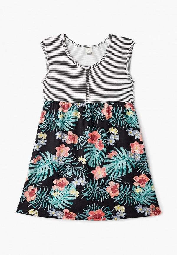 повседневные платье roxy для девочки, разноцветное