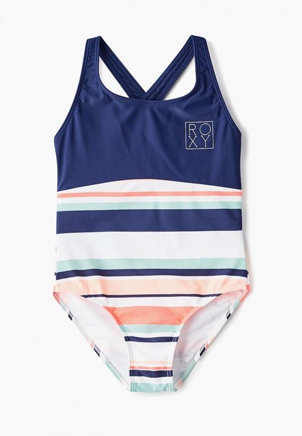 купальник roxy для девочки, разноцветный