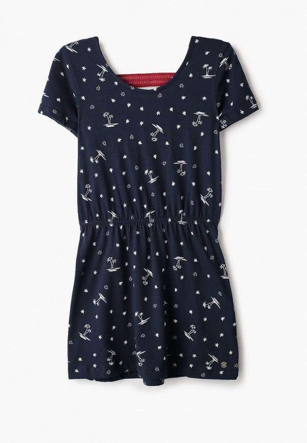 платье roxy для девочки, синее