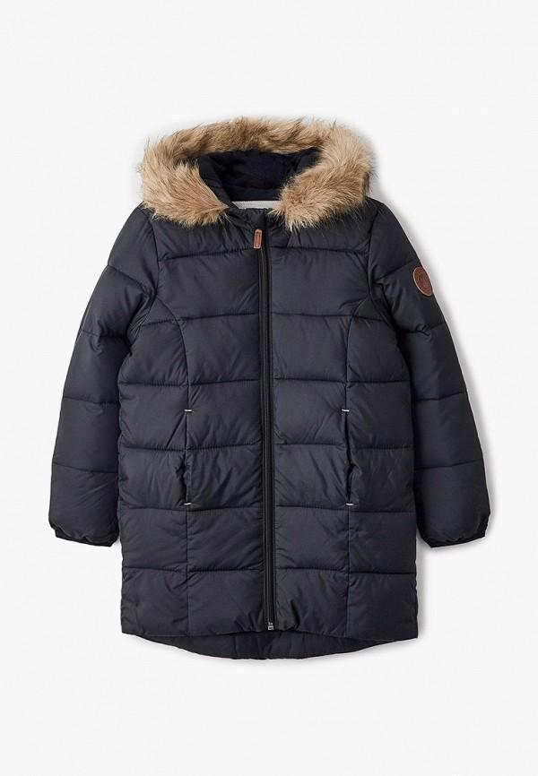 куртка roxy для девочки, черная