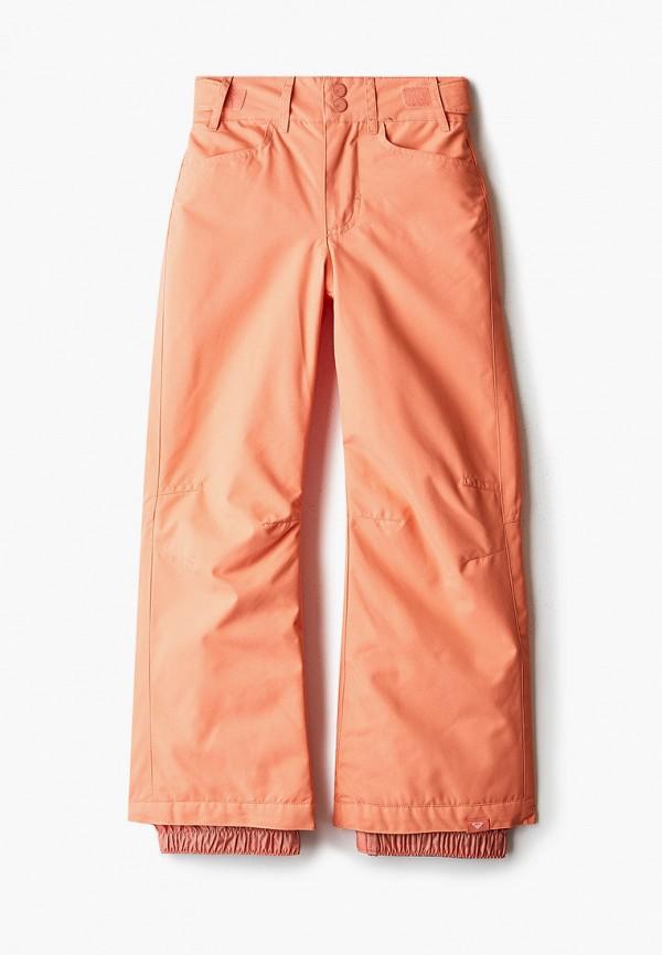 горнолыжные брюки roxy для девочки, оранжевые