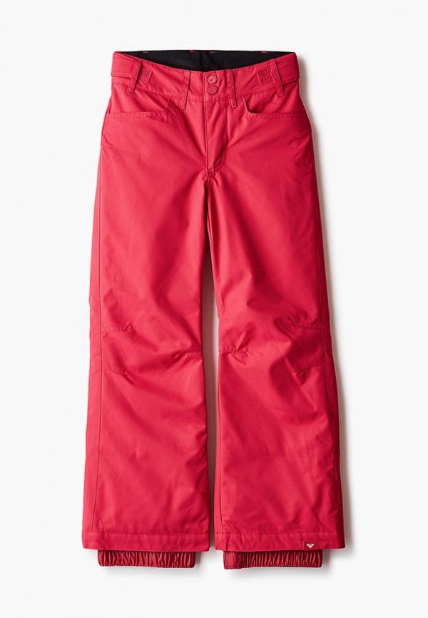 брюки roxy для девочки, розовые
