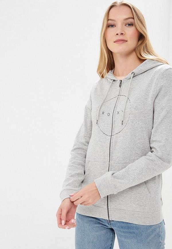 Купить Толстовка Roxy, ro165ewakdk7, серый, Осень-зима 2018/2019