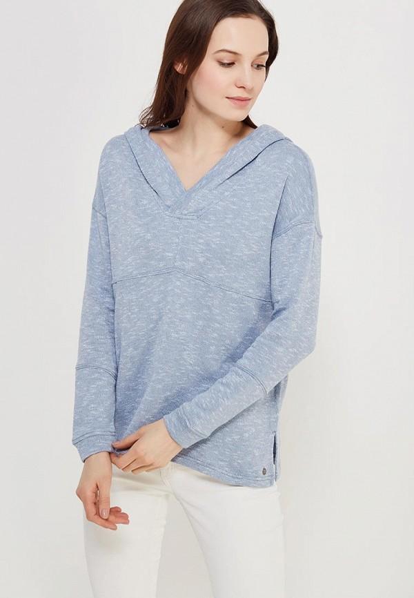 Купить Худи Roxy, RO165EWAKEC0, голубой, Осень-зима 2018/2019