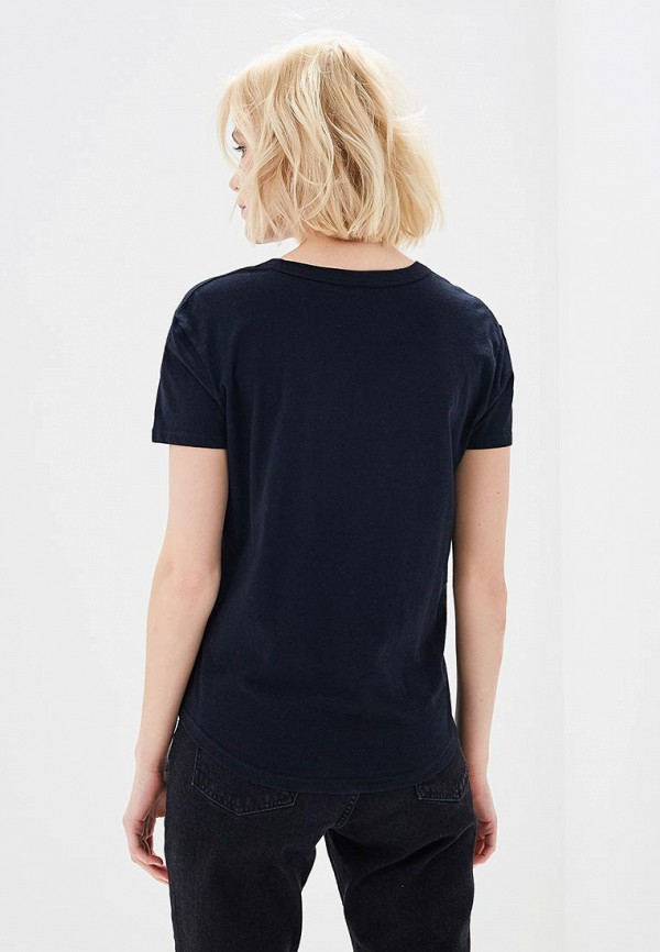 Фото 3 - женскую футболку Roxy черного цвета