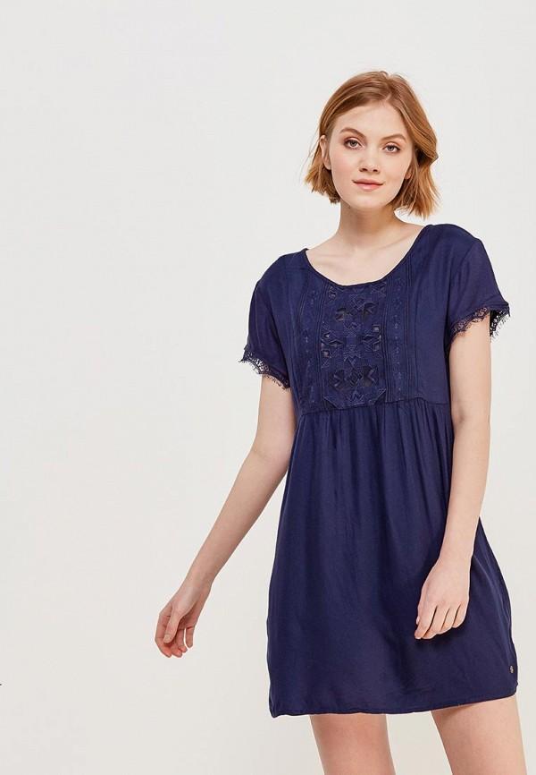 Купить Платье Roxy, ro165ewakfg1, синий, Весна-лето 2018