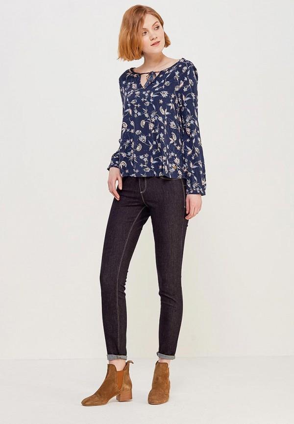 Фото 2 - Блузу Roxy синего цвета