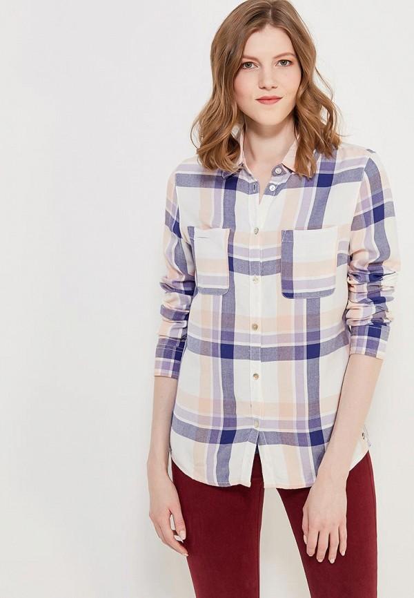 Рубашка Roxy, RO165EWAKFJ7, белый, Весна-лето 2018  - купить со скидкой