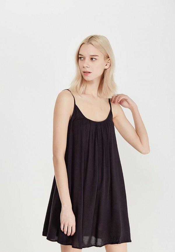 Платье Roxy, ro165ewaktd8, черный, Осень-зима 2018/2019  - купить со скидкой