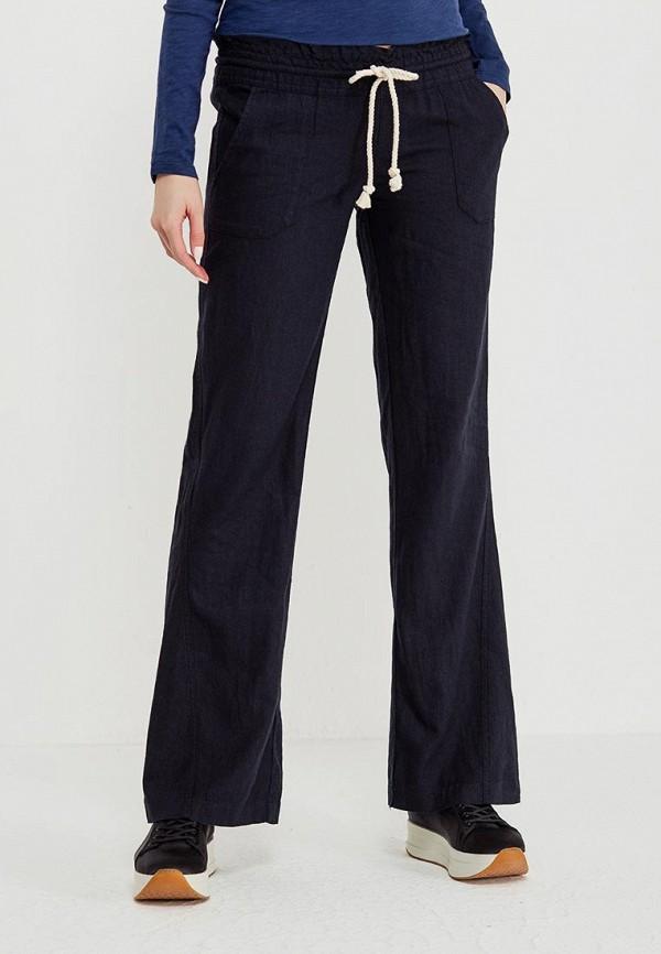 женские повседневные брюки roxy, черные