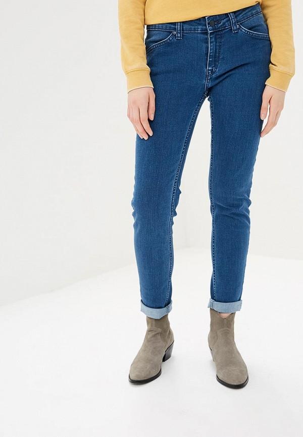 женские джинсы roxy, голубые