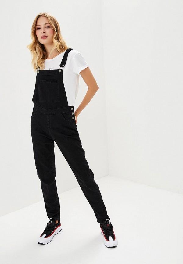 Купить Комбинезон джинсовый Roxy, RO165EWCFHX5, черный, Осень-зима 2018/2019