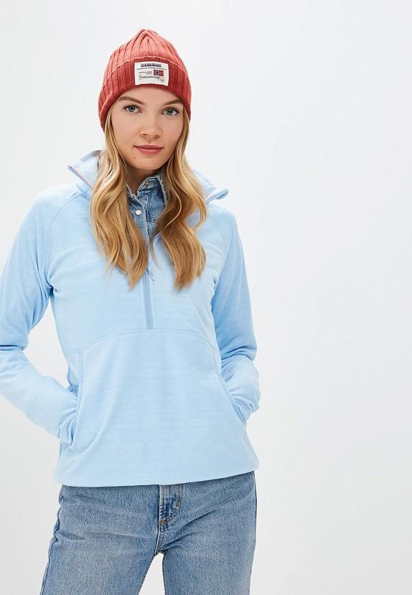 Купить Олимпийка Roxy, ro165ewcfhz6, голубой, Осень-зима 2018/2019