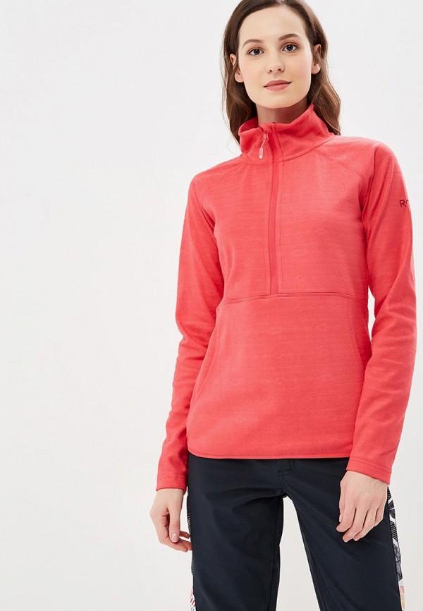 женская олимпийка roxy, розовая