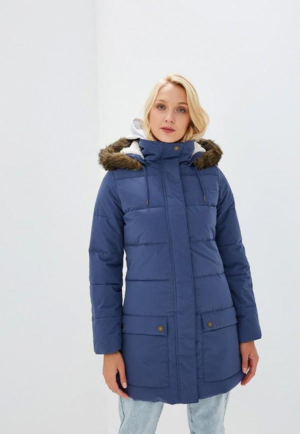 Купить Куртка утепленная Roxy, ELLIE, ro165ewcfid8, синий, Осень-зима 2018/2019