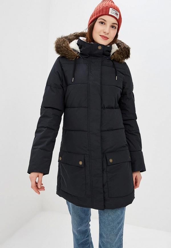 Купить Куртка утепленная Roxy, ELLIE, ro165ewcfie0, черный, Осень-зима 2018/2019