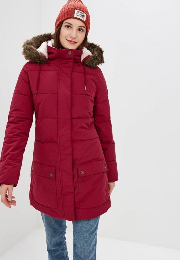 Купить Куртка утепленная Roxy, ELLIE, ro165ewcfie1, розовый, Осень-зима 2018/2019