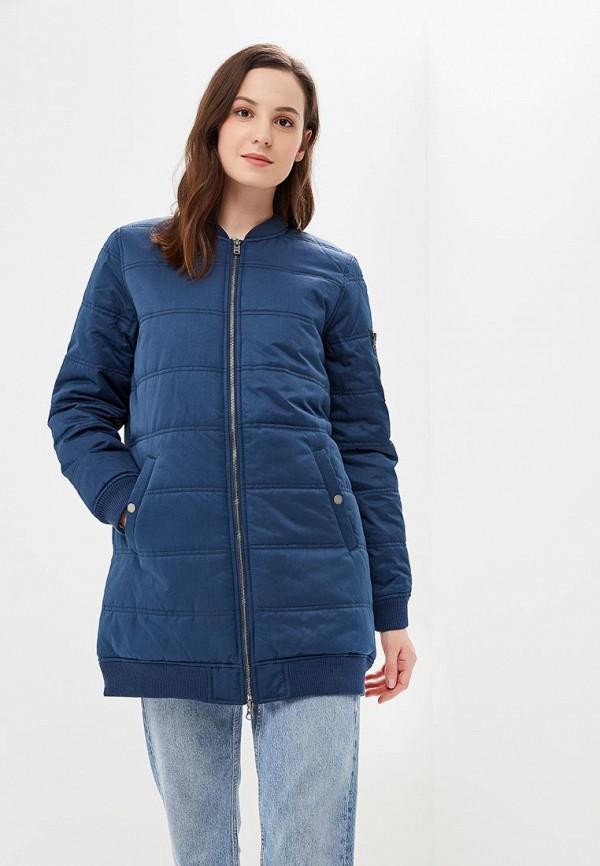 женская куртка roxy, синяя