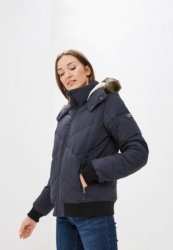 Купить Куртка утепленная Roxy, HANNA, RO165EWCFIE9, черный, Осень-зима 2018/2019