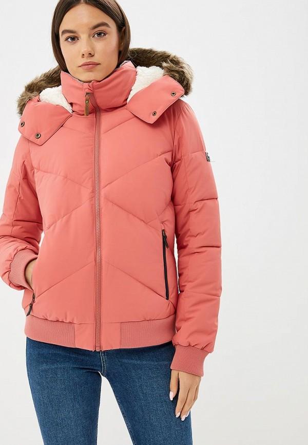 Купить Куртка утепленная Roxy, HANNA, RO165EWCFIF0, розовый, Осень-зима 2018/2019