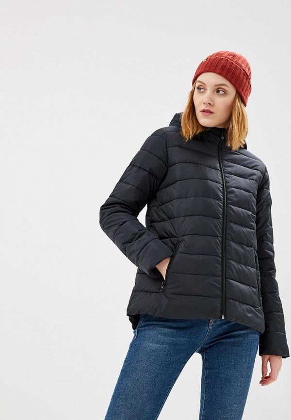 Купить Куртка утепленная Roxy, ROCK PEAK, RO165EWCFIF4, черный, Осень-зима 2018/2019