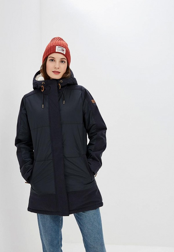 женская куртка roxy, черная