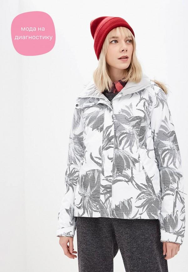 женская горнолыжные куртка roxy, белая