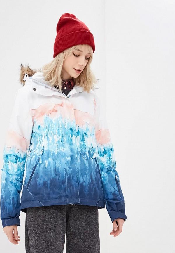 женская горнолыжные куртка roxy, разноцветная